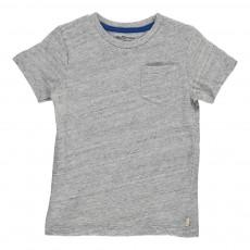 T-Shirt Poche Viki Gris chiné