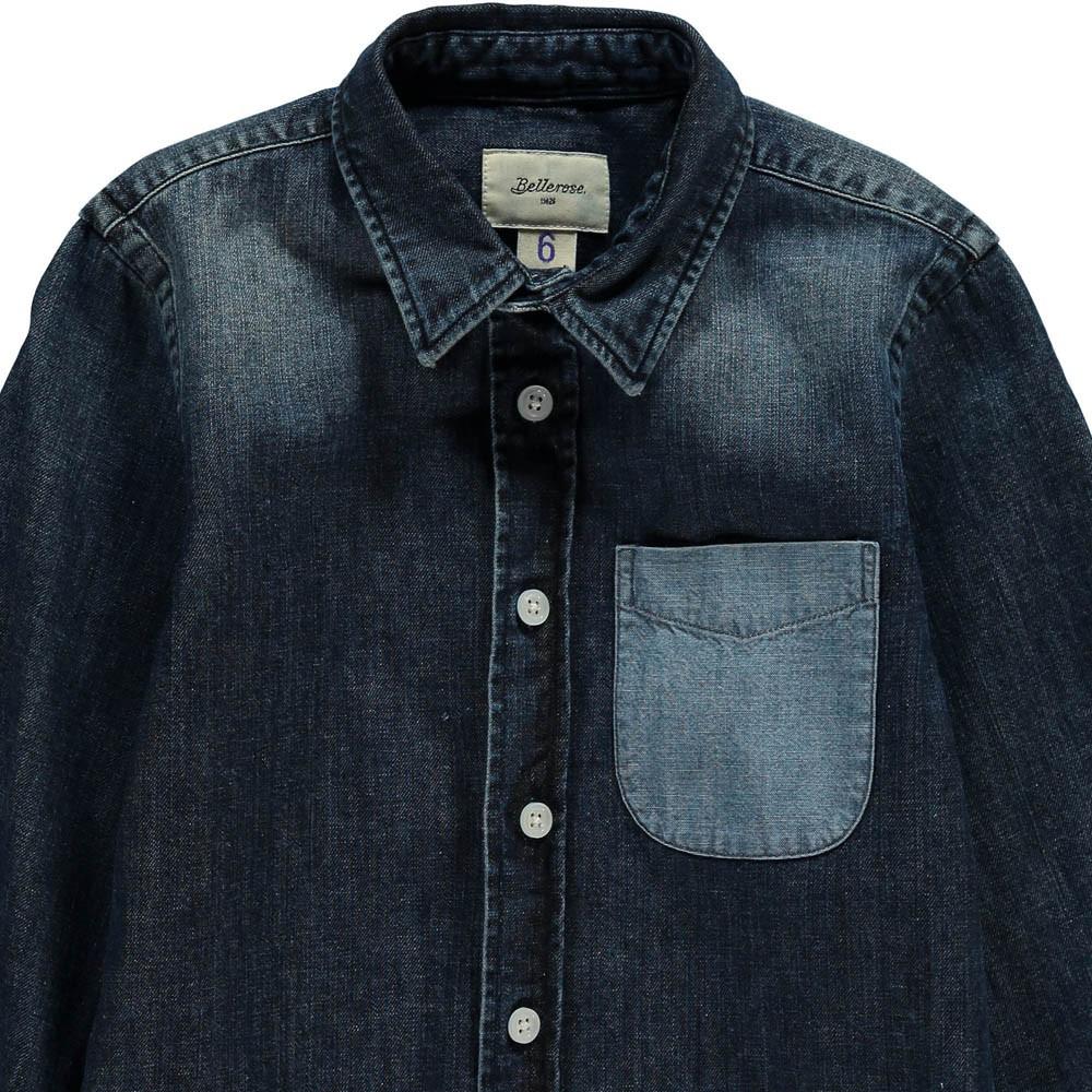 chemise ganix denim bellerose mode ado gar on smallable. Black Bedroom Furniture Sets. Home Design Ideas