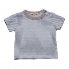 T-shirt Rayé Tido Bleu pâle