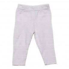 Pantalon Texturé Bab Rose pâle