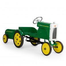 Tracteur à pédales - Vert