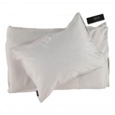 Parure de lit en jersey Crème