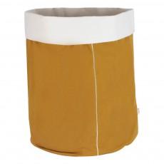 Panier broderie Or La cerise sur le gâteau x Smallable Jaune moutarde