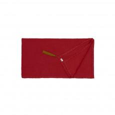 Foulard Paréo Pompons 110*190  - Collection Ado et Femme - Rouge