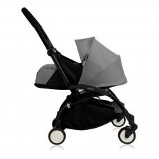 Poussette complète new Yoyo  naissance 0-6 mois, châssis noir Gris