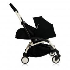 Poussette complète new Yoyo  naissance 0-6 mois, châssis blanc Noir