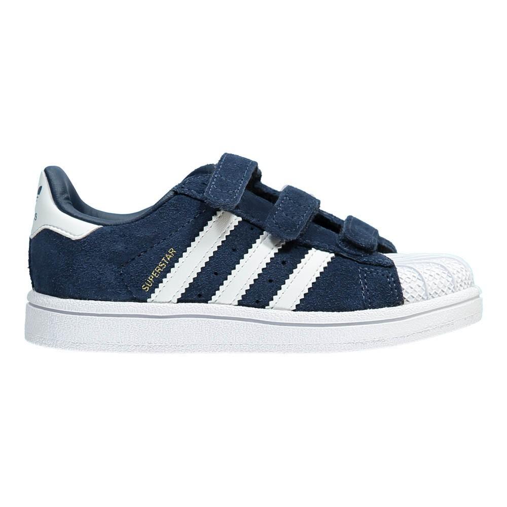 baskets scratchs superstar su de bleu marine adidas chaussures enfant smallable. Black Bedroom Furniture Sets. Home Design Ideas
