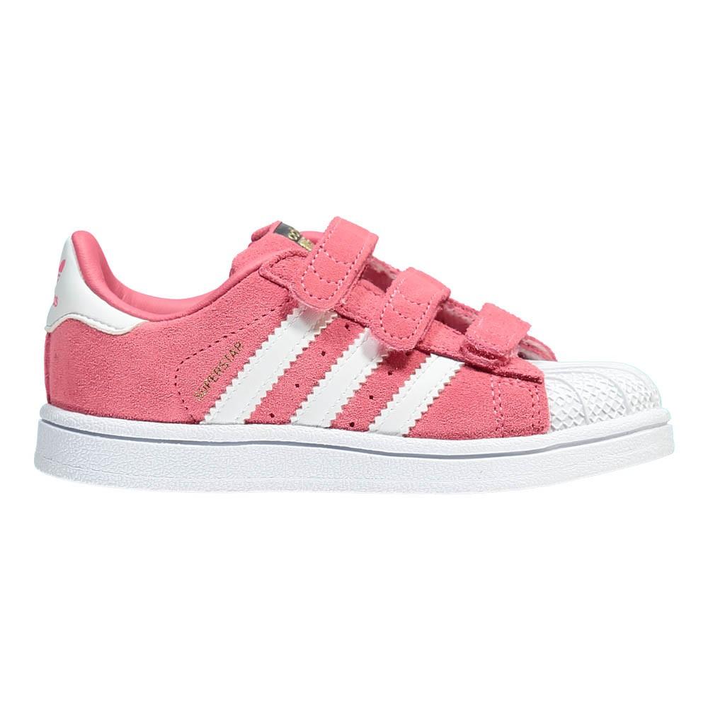 adidas superstar multicolor rosa