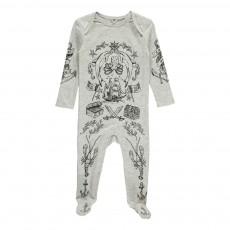 Pyjama Chasse Au Trésor Rufus Gris chiné