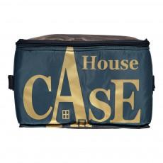 Rangement House Case en nylon Bleu