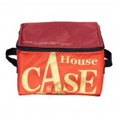 Rangement House Case en nylon Bourgogne
