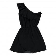 Robe Asymétrique Ilda Noir