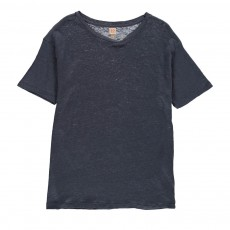 T-Shirt Lin Mogle Bleu gris