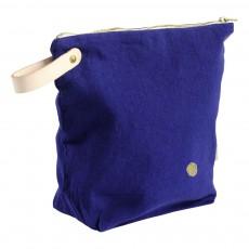 Trousse de toilette Lina Bleu indigo