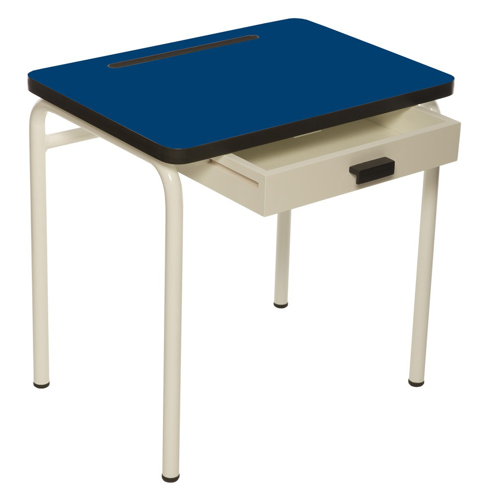 bureau enfant r gine bleu lectrique les gambettes. Black Bedroom Furniture Sets. Home Design Ideas