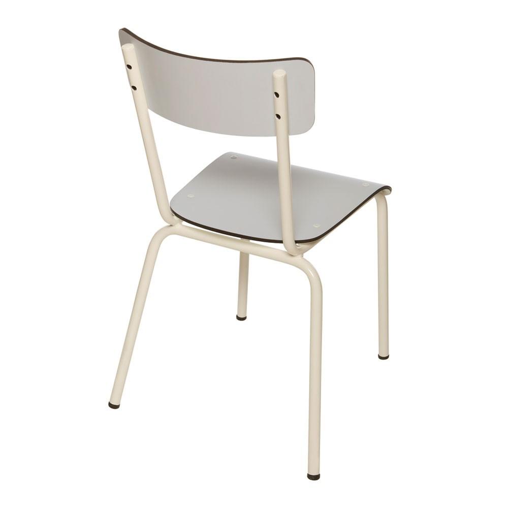 chaise enfant suzie gris les gambettes mobilier smallable. Black Bedroom Furniture Sets. Home Design Ideas