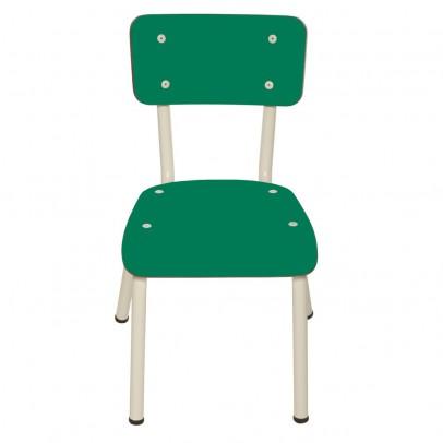 chaise enfant little suzie vert tropical les gambettes mobilier smallable. Black Bedroom Furniture Sets. Home Design Ideas