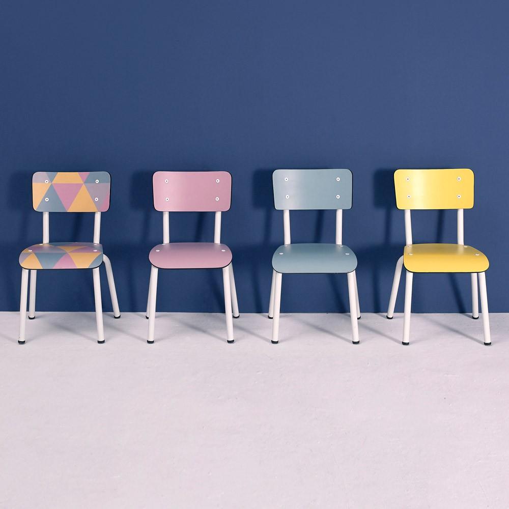 chaise enfant little suzie vieux rose les gambettes mobilier smallable. Black Bedroom Furniture Sets. Home Design Ideas
