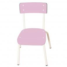 Chaise élémentaire Colette - Vieux rose