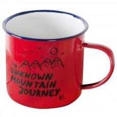 Mug émaillé Montagne Rouge
