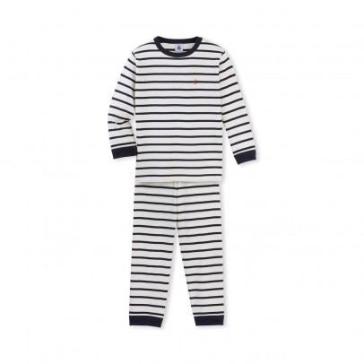 Image du produit Pyjama Rayé Bagel Bleu marine