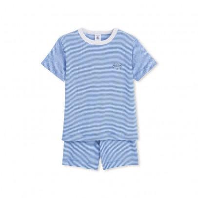 Image du produit Pyjama Court Rayé Balbo Bleu