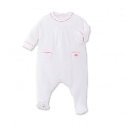 Image du produit Pyjama à Pieds Pois Balise Rose pâle