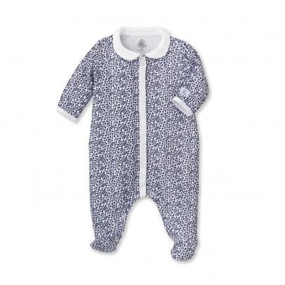 Image du produit Pyjama à Pieds Fleurs Barriere Bleu