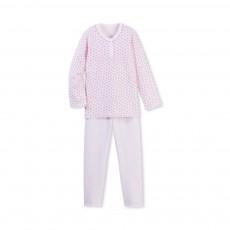 Pyjama Fleurs Benelux Rose
