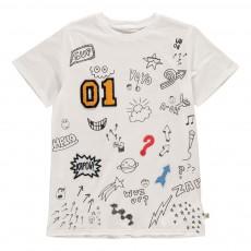 T-Shirt Patchs Arlo Blanc