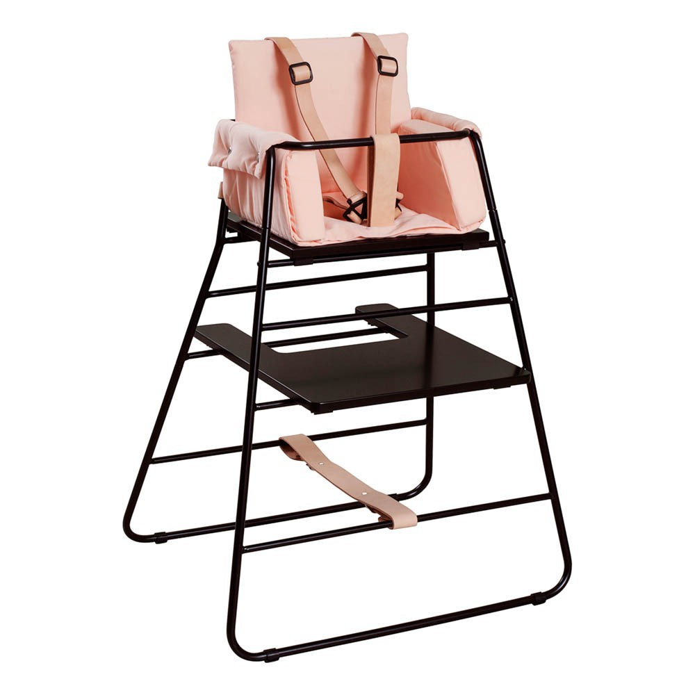 harnais de s curit pour chaise haute towerchair naturel et noir budtzbendix univers b b. Black Bedroom Furniture Sets. Home Design Ideas