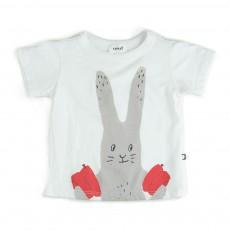 T-shirt Lapin Blanc