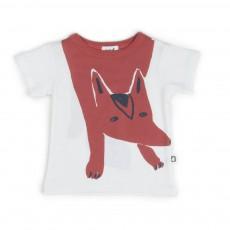 T-shirt Renard Blanc