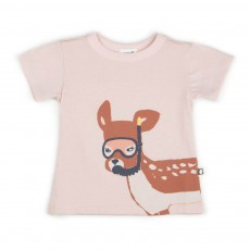 T-shirt Bambi Rose pâle