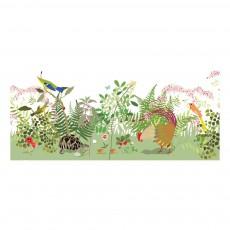 Papier peint décor Botanique 300x350 cm Multicolore