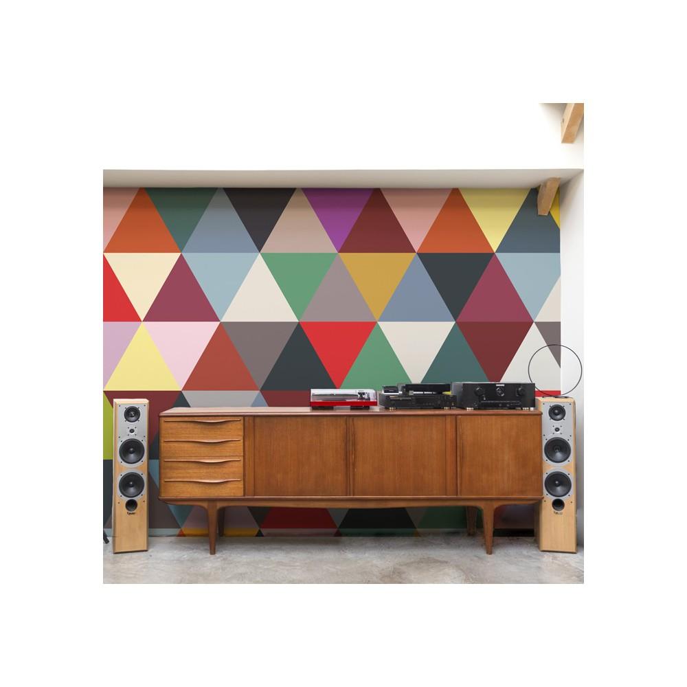 Bien Fait Papier Peint : papier peint mosaic classic 182x280 cm 2 l s multicolore ~ Dailycaller-alerts.com Idées de Décoration