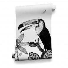 Papier-peint the Wild 455x280 cm - 5 lés Blanc