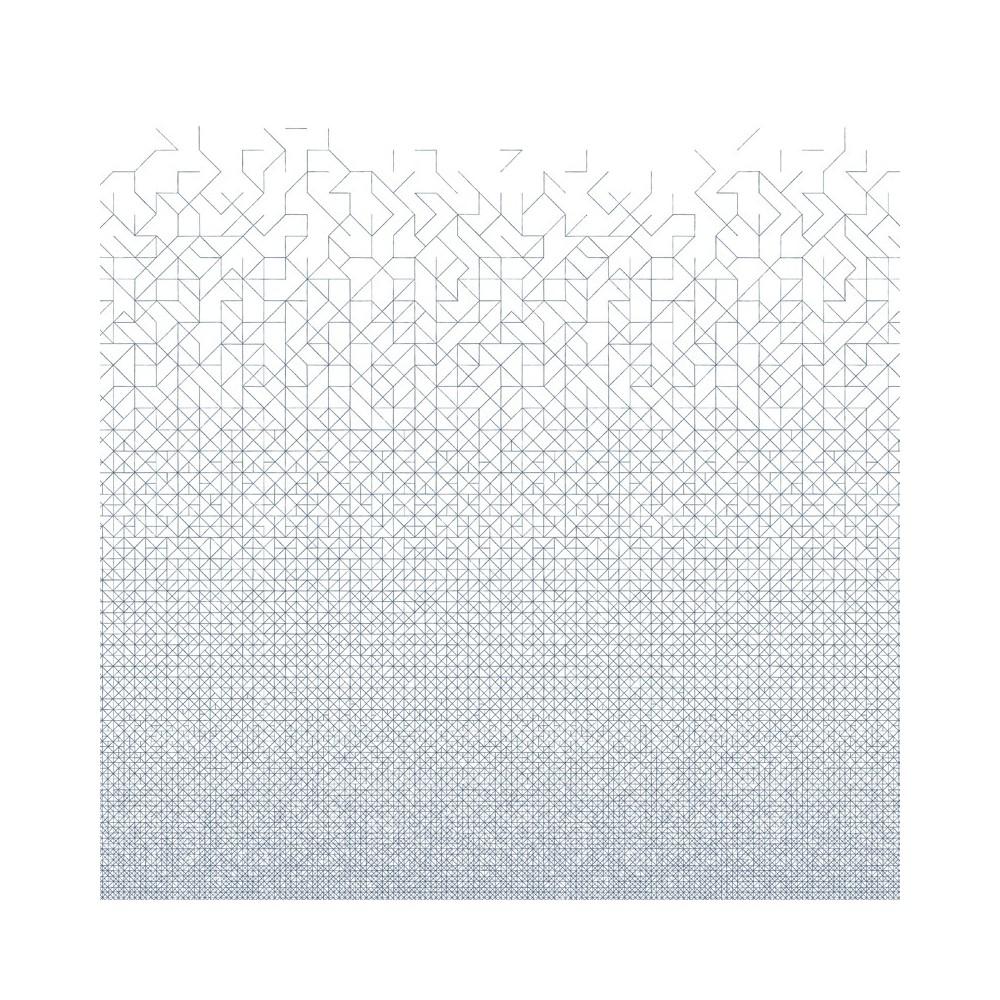 papier peint modular 182x280 cm 2 l s bleu gris bien fait d coration smallable. Black Bedroom Furniture Sets. Home Design Ideas