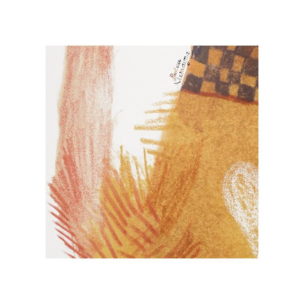 papier peint chat 112x200 cm illustration par beatrice alemagna orange bien fait d coration. Black Bedroom Furniture Sets. Home Design Ideas
