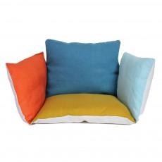 Assise bébé lin - multicolore Multicolore