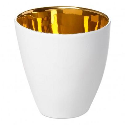 Image du produit Tasses Assoiffées en porcelaine - Vendues par 2 Doré