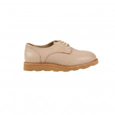 Derbies Cuir Reggie Beige