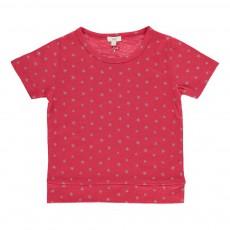 T-Shirt Etoiles Mariu Rouge framboise