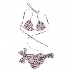 Bikini Fleurs India Blanc cassé