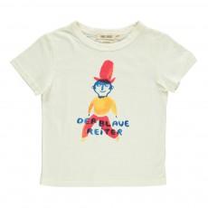 T-Shirt Reiter Ecru
