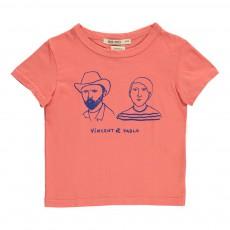 T-Shirt Vincent et Pablo Corail