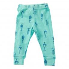 Legging Mi-Mollets Painters Bleu turquoise