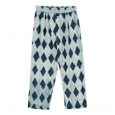 Pantalon Lounge Losanges Diamonds Bleu