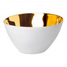 Petits bols Affamés porcelaine platine - vendus par 2 Doré