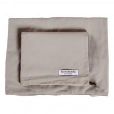 Housse de matelas à langer 50x62 cm Gris